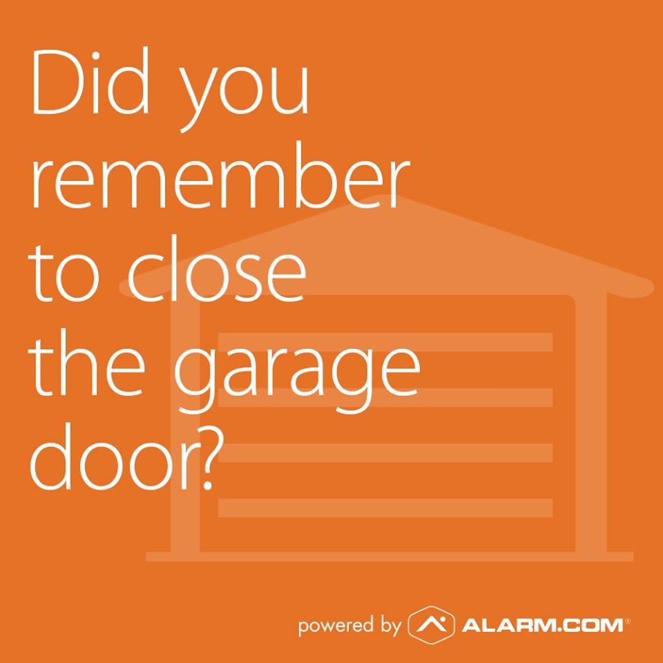 smart garage door